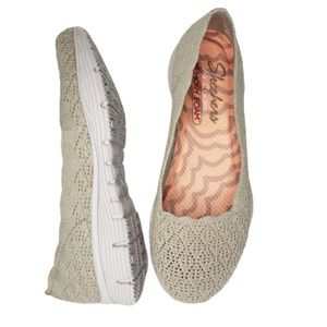 Skechers Womens Seager Infield Slip-On Natural